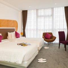 Hotel Icon Bangkok 4* Улучшенный номер с различными типами кроватей фото 19