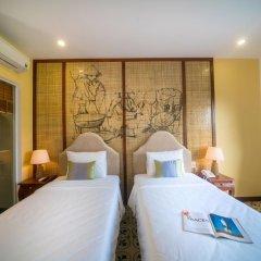 Отель Water Coconut Boutique Villas 3* Улучшенный номер с различными типами кроватей фото 2