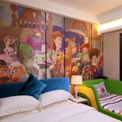 Апартаменты Guangzhou Chimelong Heefun International Service Apartment Студия фото 9