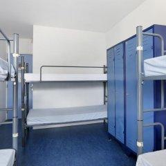 Hans Brinker Hostel Amsterdam Кровать в общем номере с двухъярусной кроватью
