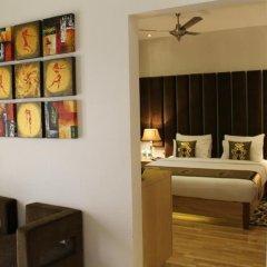 Hotel Jivitesh 4* Номер Делюкс с различными типами кроватей фото 5