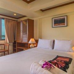 Krabi City Seaview Hotel 2* Номер Делюкс с различными типами кроватей фото 9