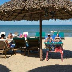 Отель An Bang Sunset Village Homestay пляж фото 2
