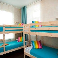 Europa Hostel Кровать в общем номере с двухъярусной кроватью фото 12