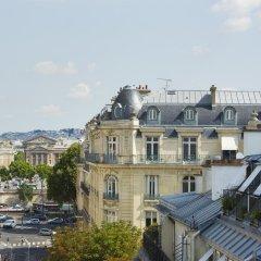 Отель Bourgogne Et Montana Париж балкон