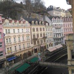 Отель Paderewski Чехия, Карловы Вары - отзывы, цены и фото номеров - забронировать отель Paderewski онлайн балкон