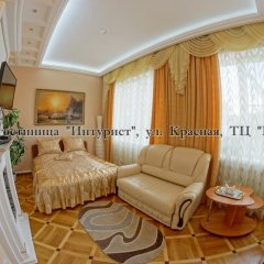 Гостиница Императрица Номер Делюкс с разными типами кроватей фото 31