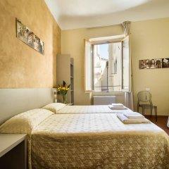 Отель Albergo Firenze 3* Стандартный номер с различными типами кроватей фото 8