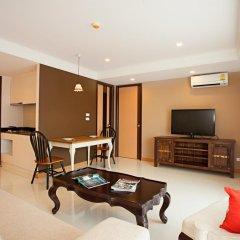 Отель Rocco Huahin Condominium Люкс с различными типами кроватей фото 14