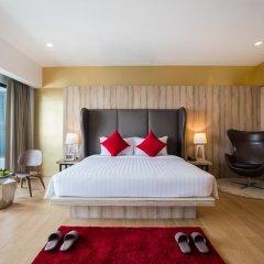 J Inspired Hotel Pattaya 4* Номер Делюкс с различными типами кроватей фото 5