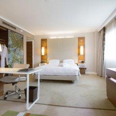 Отель Hilton Barcelona 4* Представительский люкс с различными типами кроватей фото 5
