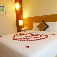 Muong Thanh Grand Ha Long Hotel 4* Номер Делюкс с различными типами кроватей фото 5