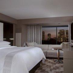 Отель Beverly Hills Marriott 4* Представительский номер с различными типами кроватей фото 3
