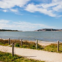 Отель Obidos Lagoon Wellness Retreat пляж фото 2