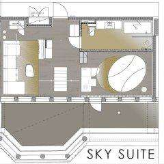 Отель Klaus K Hotel Sky Lofts Финляндия, Хельсинки - отзывы, цены и фото номеров - забронировать отель Klaus K Hotel Sky Lofts онлайн интерьер отеля