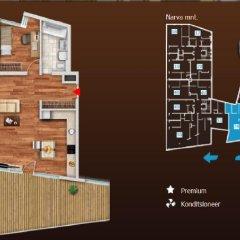 Отель Kreutzwaldi Penthouse Эстония, Таллин - отзывы, цены и фото номеров - забронировать отель Kreutzwaldi Penthouse онлайн в номере