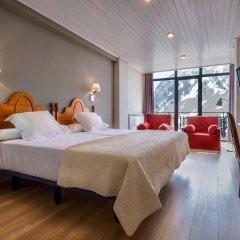 Hotel Edelweiss Candanchu 3* Стандартный семейный номер с двуспальной кроватью фото 13