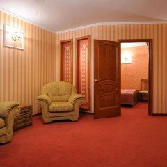 Отель Лермонтов Омск комната для гостей фото 2