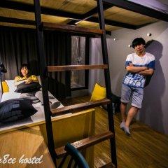 Silom Space Hostel Стандартный номер фото 8
