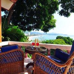 Отель Baan Karon Hill Phuket Resort 3* Стандартный номер с двуспальной кроватью