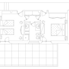 Отель Colle Moro - B&B Villa Maria 3* Стандартный номер с различными типами кроватей фото 4