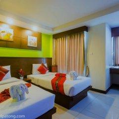 Green Harbor Patong Hotel 2* Улучшенный номер двуспальная кровать фото 8