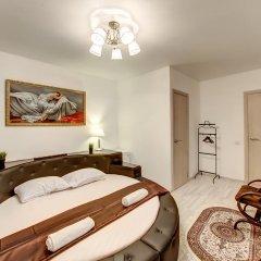 Гостиница Статус 3* Люкс двуспальная кровать фото 6
