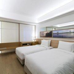 Отель Sotetsu Hotels The Splaisir Seoul Myeong-Dong 4* Улучшенный номер с различными типами кроватей фото 3