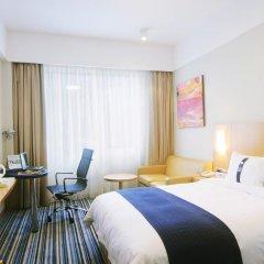 Отель Holiday Inn Express Shenzhen Luohu 3* Стандартный номер с различными типами кроватей фото 3
