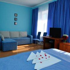Мини-Отель На Казанской Люкс с различными типами кроватей фото 5