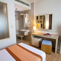 Trang Hotel Bangkok 3* Улучшенный номер с различными типами кроватей фото 2
