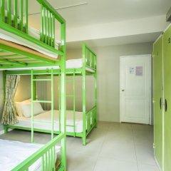 Отель @Hua Lamphong 2* Кровать в общем номере с двухъярусной кроватью фото 3
