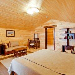 Гостиница Золотая бухта Бунгало с различными типами кроватей фото 7