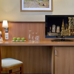 Отель IntercityHotel München 4* Стандартный номер с различными типами кроватей фото 5