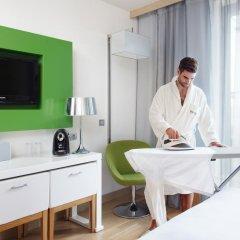 Отель Occidental Praha Five 4* Представительский номер с различными типами кроватей фото 7