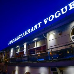 Апартаменты Vogue Boat Apartments Будапешт вид на фасад