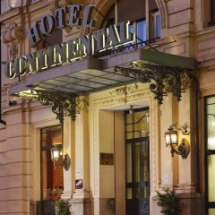 Hotel Continental Genova вид на фасад