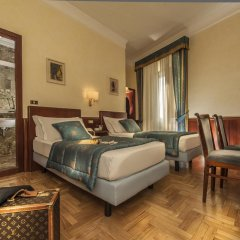Отель Nord Nuova Roma 3* Стандартный номер с двуспальной кроватью фото 5