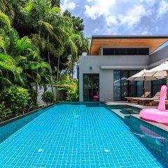Отель Baan Bua Villa by Railand бассейн