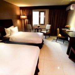 Mandarin Plaza Hotel 4* Номер Делюкс с различными типами кроватей фото 19