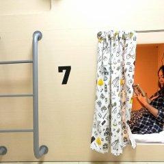 Coooker Youth Hostel (Shenzhen Luohu Port) Капсула в женском общем номере фото 2