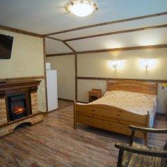 Гостиница Теремок Заволжский Апартаменты разные типы кроватей фото 35