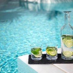 Отель Santorini Kastelli Resort 5* Улучшенный номер с различными типами кроватей фото 15