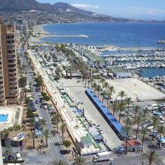 Отель Pension Los Faroles Испания, Фуэнхирола - отзывы, цены и фото номеров - забронировать отель Pension Los Faroles онлайн пляж фото 2