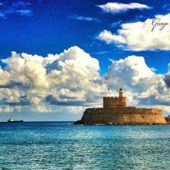 Отель 3 Charites Old Town Родос пляж