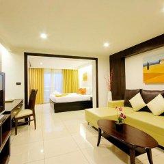 Отель Baywalk Residence Pattaya By Thaiwat 3* Номер Делюкс с разными типами кроватей фото 4