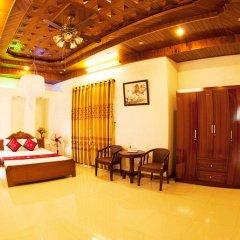 Отель Hoa Mau Don Homestay Улучшенный номер с различными типами кроватей фото 3