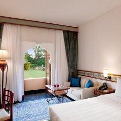 Отель Trident, Jaipur 5* Номер Делюкс с различными типами кроватей