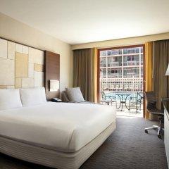 Отель Hilton San Francisco Union Square 4* Стандартный номер с двуспальной кроватью фото 8