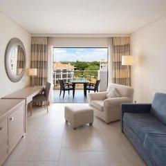 Отель Hilton Vilamoura As Cascatas Golf Resort & Spa 5* Люкс разные типы кроватей фото 8